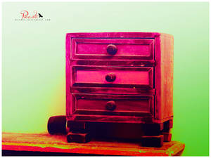Secretive Colors in a Drawer