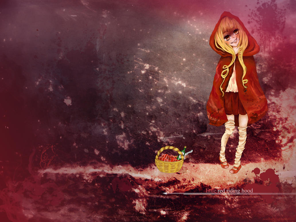 Little red riding hood? by peachbummy