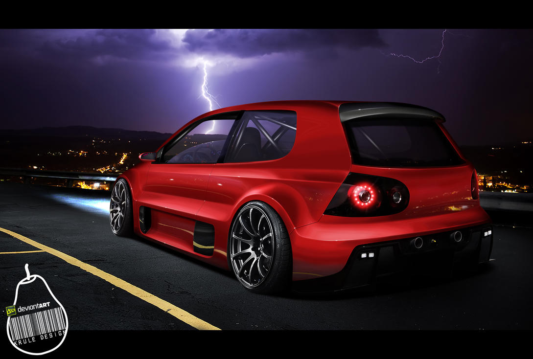 Resurrection (VW Golf V W12) by KruLeDesign