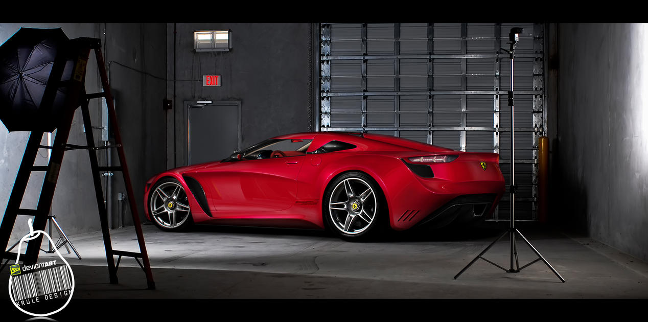 Ferrari Anthurium Concept by KruLeDesign