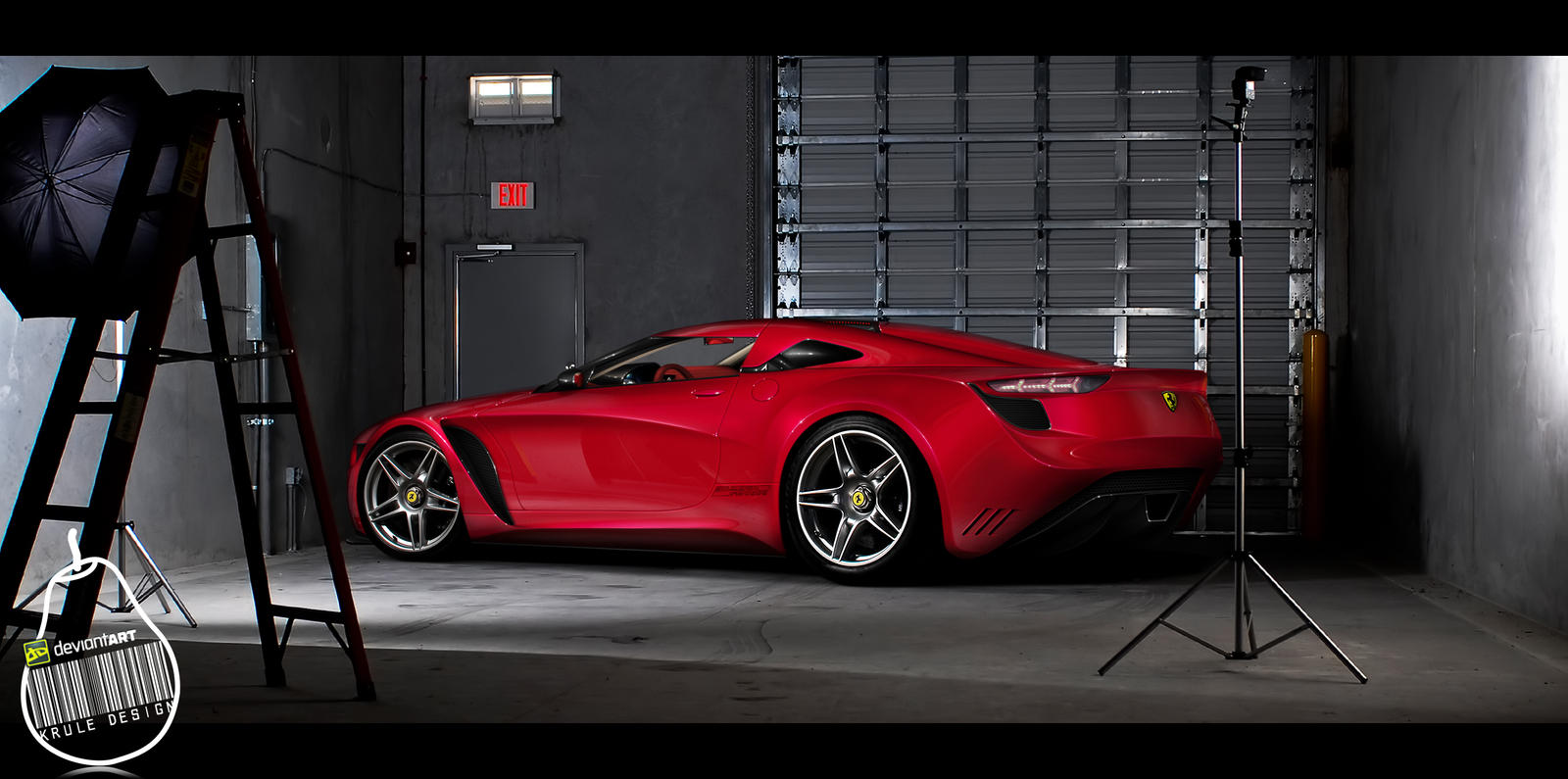 Ferrari Anthurium Concept by KruLeDesign