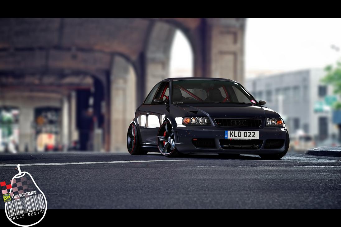 Audi S3(8L) Stanced by KruLeDesign