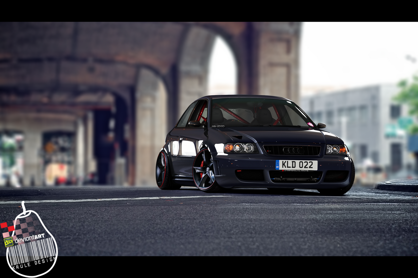Audi S3 8l Stanced By Kruledesign On Deviantart