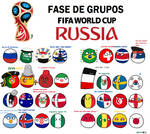 Polandball Russia 2018 groups