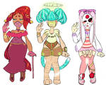 Collab Lace Mask Time Adopts [open]