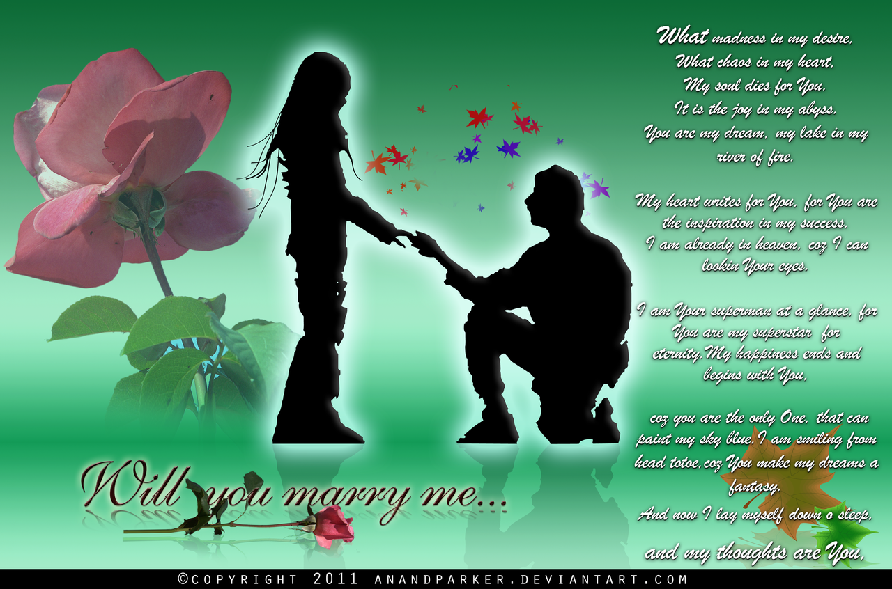 Will You Marry Me Wallpaper Pictures Vinnyoleo Vegetalinfo