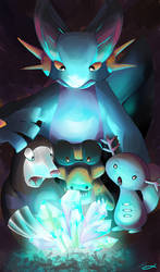 Finding treasure: Ground Pokemon Contest Entry by LittleAnchovy