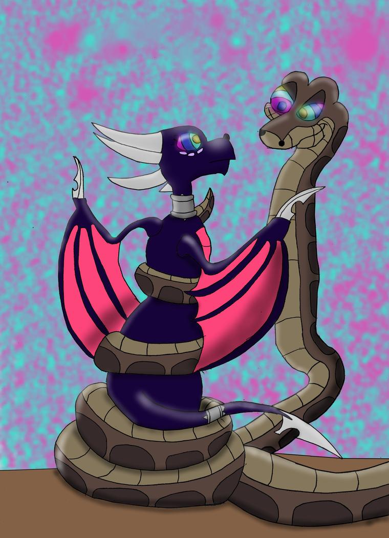 Kaa the snake erotic art