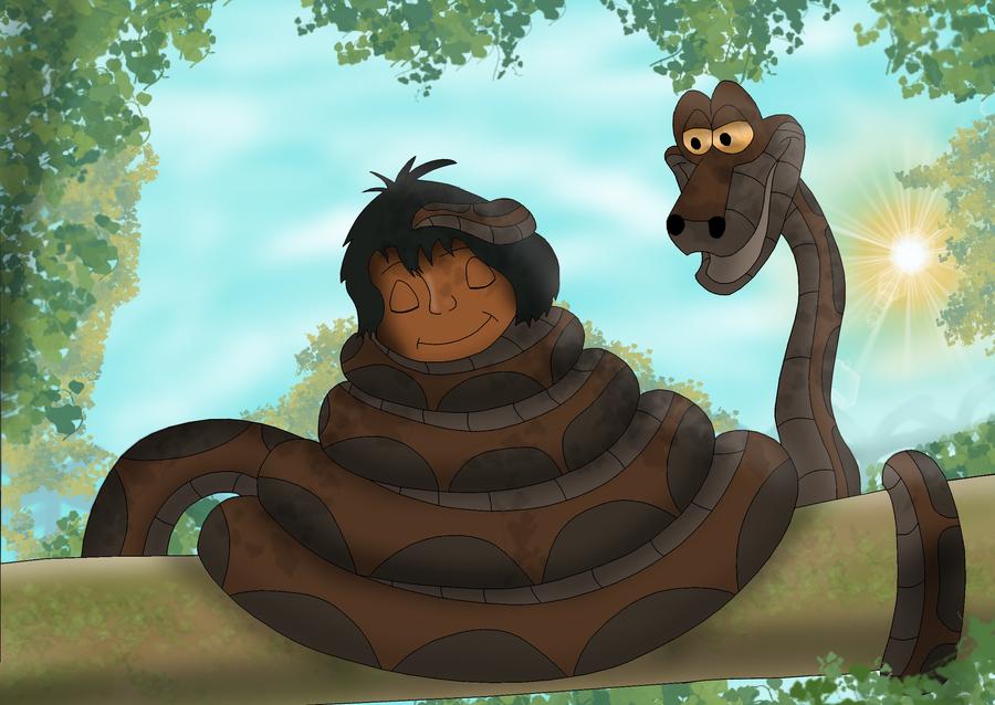 Mowgli S Silent Slumber By Kinipharian On Deviantart