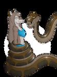 Jungle Aleu's Serpentine Encounter