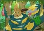 Jungle TroubleZ: The Seviper's new lil Fluffy pet!