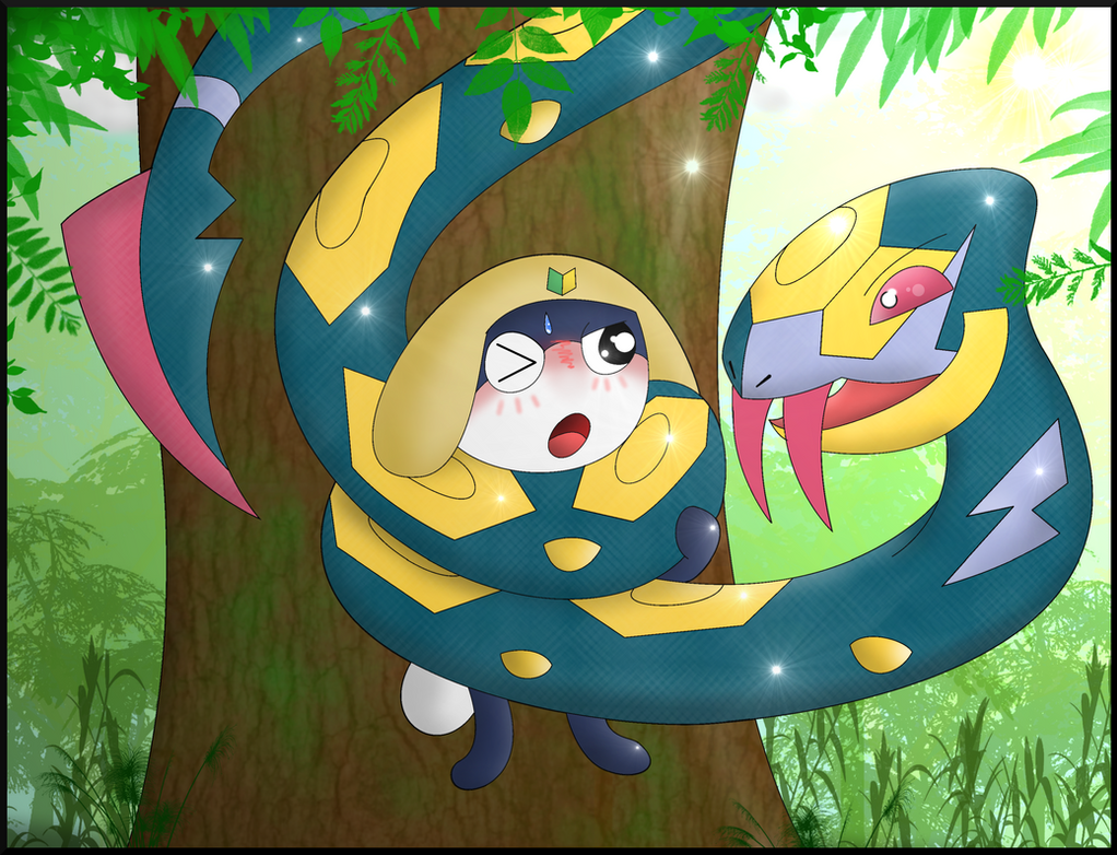 Commission tammama s seviper squeeze by crafty cobra on deviantart