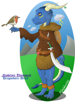 DnD 5E Character: Nephelare Thummesh