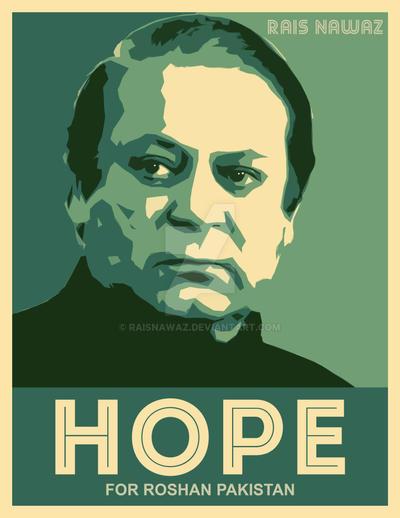 Nawaz Sharif - Hope Poster