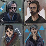 Detroit: Become Human - Sketches by justartbysusi