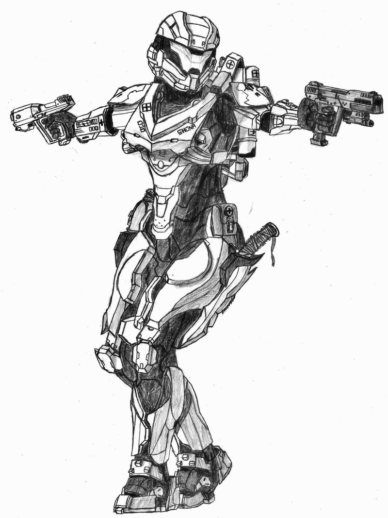 Halo 4 Armor Noble 6 343 By CRYSIS613 On DeviantArt