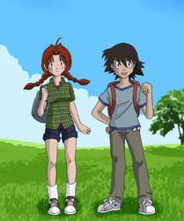 Young Mr and Mrs Ketchum