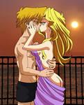 [Commission] Sunset Romance