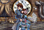 [Commission] Steampunk - Seto x Anzu
