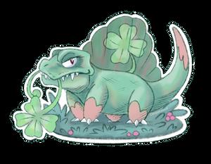 Four Leaf Clover Dimetrodon