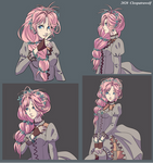 Ophelia concept sketches