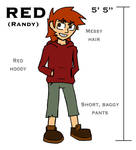Red  reference sheet