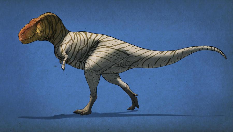 Tyrannosaurus rex by Thek560