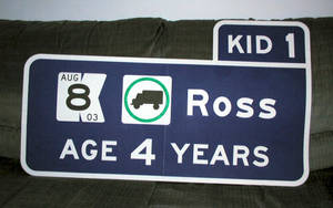 Ross Advance Guide Sign by vidthekid