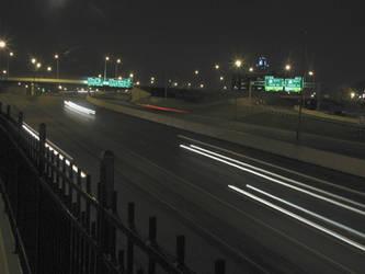 I-670 at Exit 4 by vidthekid