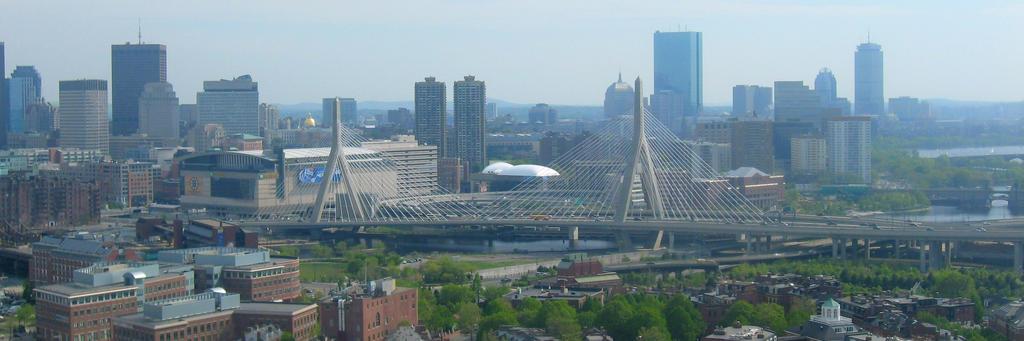 Zakim Bunker Hill Bridge by vidthekid