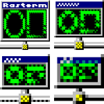 Rasterm Icon by vidthekid