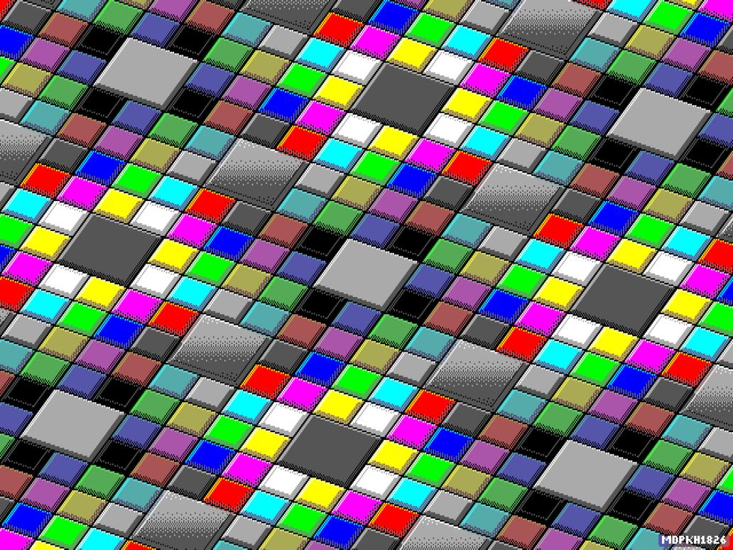 EGA Color Tiles by vidthekid