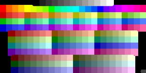 Palette 1938