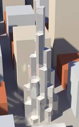 GV Tower, Model 1