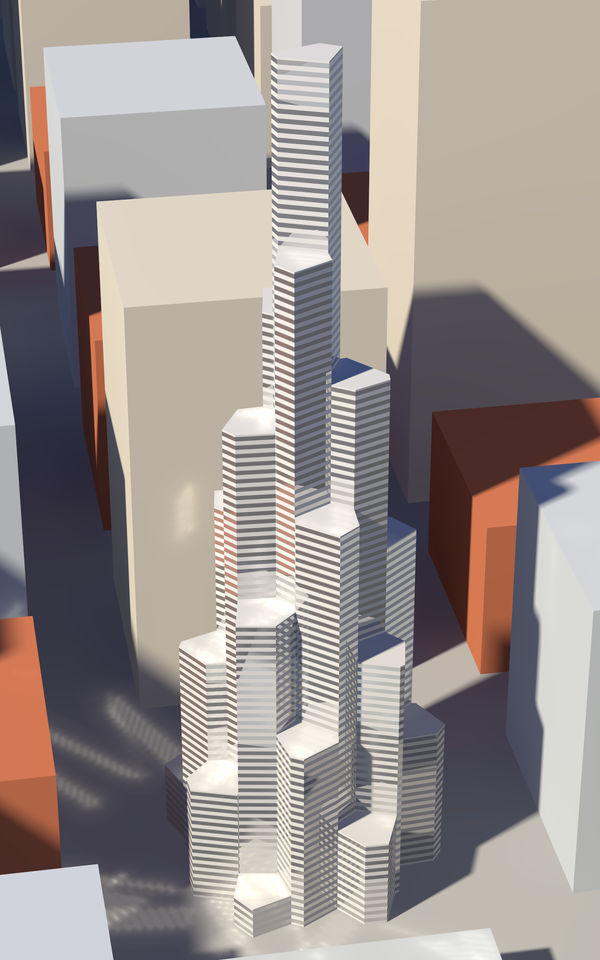 GV Tower, Model 1 by vidthekid