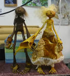 Baba Yaga and Vasilisa