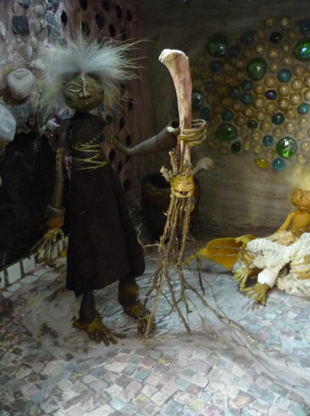 Baba Yaga and her Broom