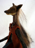 Hunter - Coyote - detail by bleaknimue