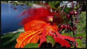 Birdling - Rhonda detail