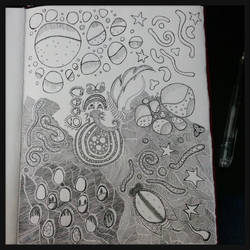 Art Journal Page - wip