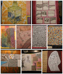 art journal pages  by bleaknimue