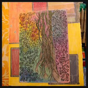 art journal tree