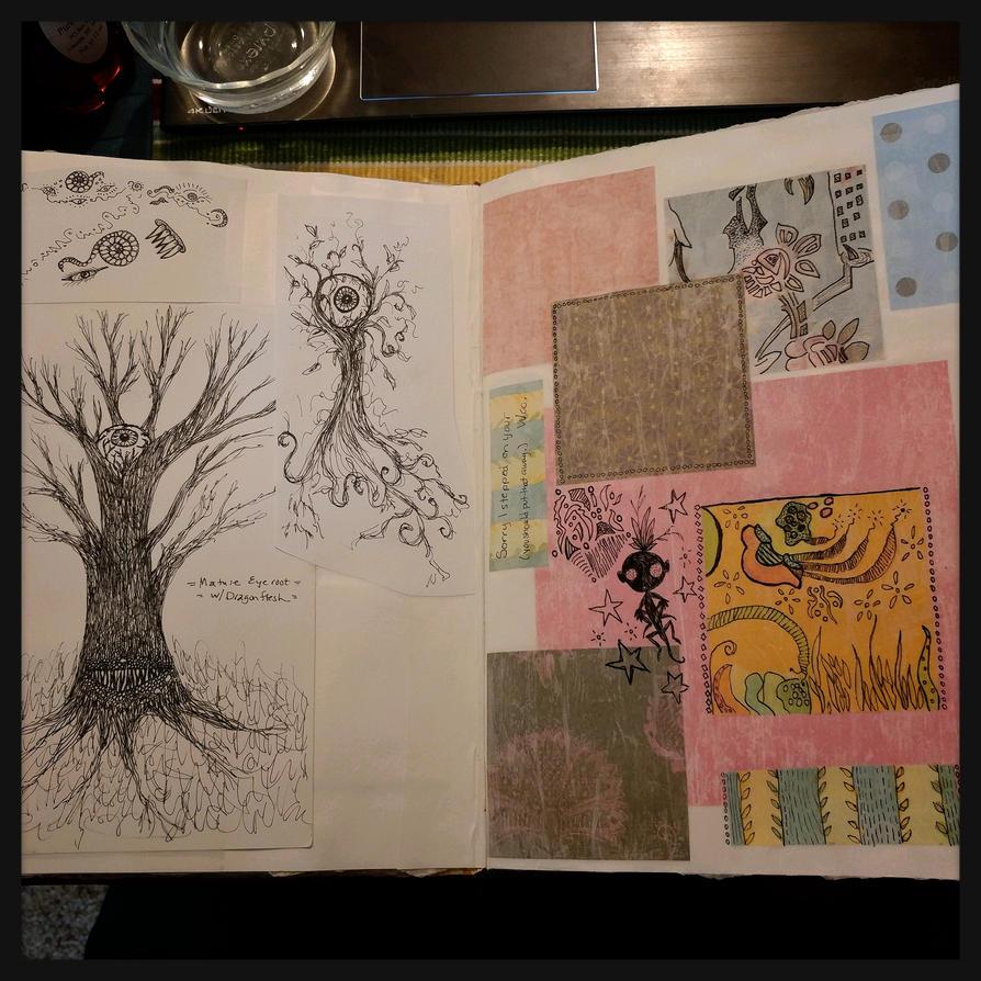 art journal by bleaknimue