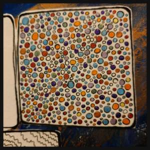 art journal dots