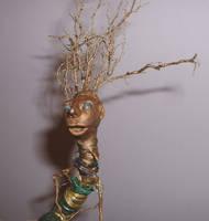 Root Thing - Tree Doll Swap 1 by bleaknimue