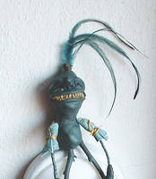 Twig Thing - Cleatus detail by bleaknimue