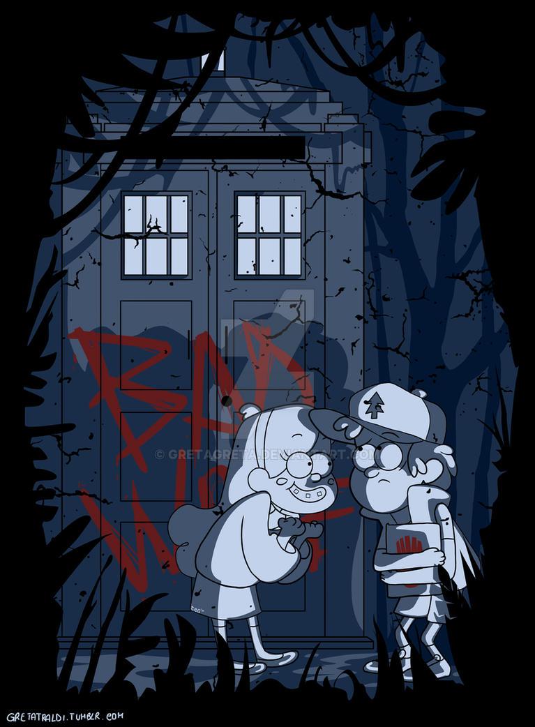 Bad Wolf In Gravity Falls By Gretagreta On Deviantart