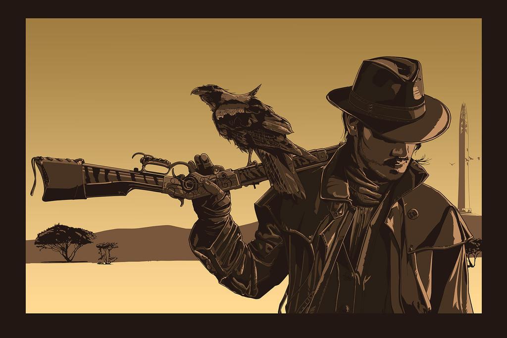 Gunslinger. by thedarkinker