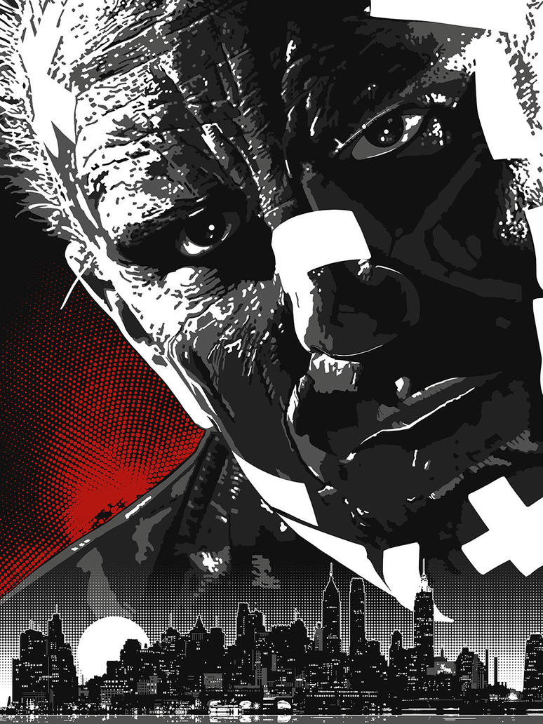 SIN CITY - MARV by thedarkinker