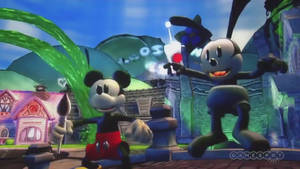 Ozzie And Mickey Gameplay Screengrab 2